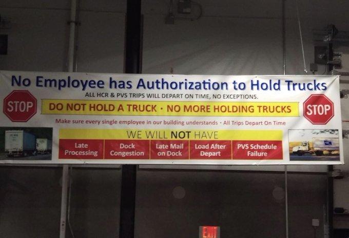 Are USPS transportation policies still causing mail delays?