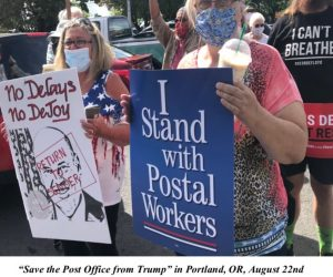 Fall 2020 Newsletter from Community & Postal Workers United