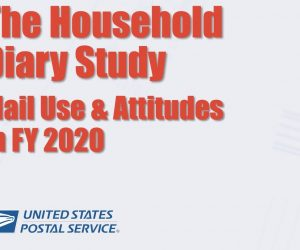 The 2020 USPS Household Diary Study is out