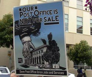 Going Postal: The husband of US Senator Dianne Feinstein has been selling post offices to his friends, cheap
